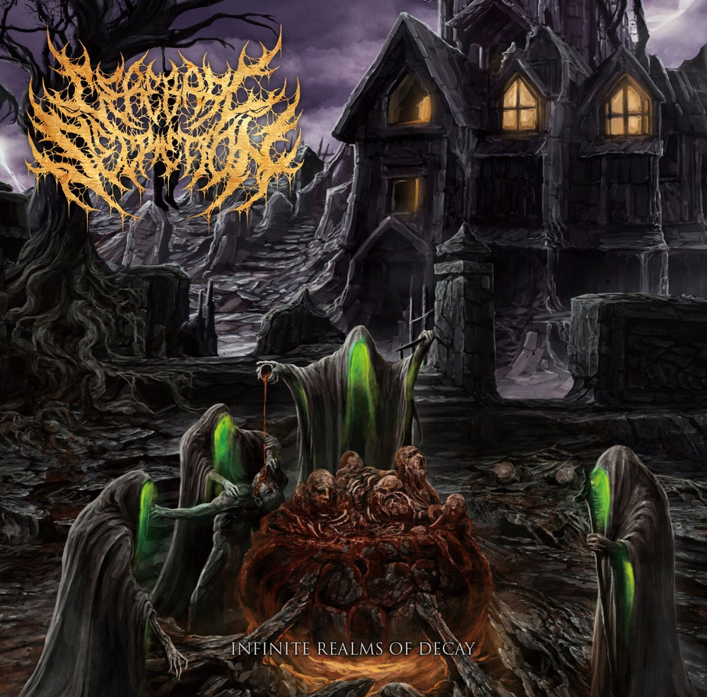 Image of Cerebral Secretion - Infinite Realms Of Decay CD