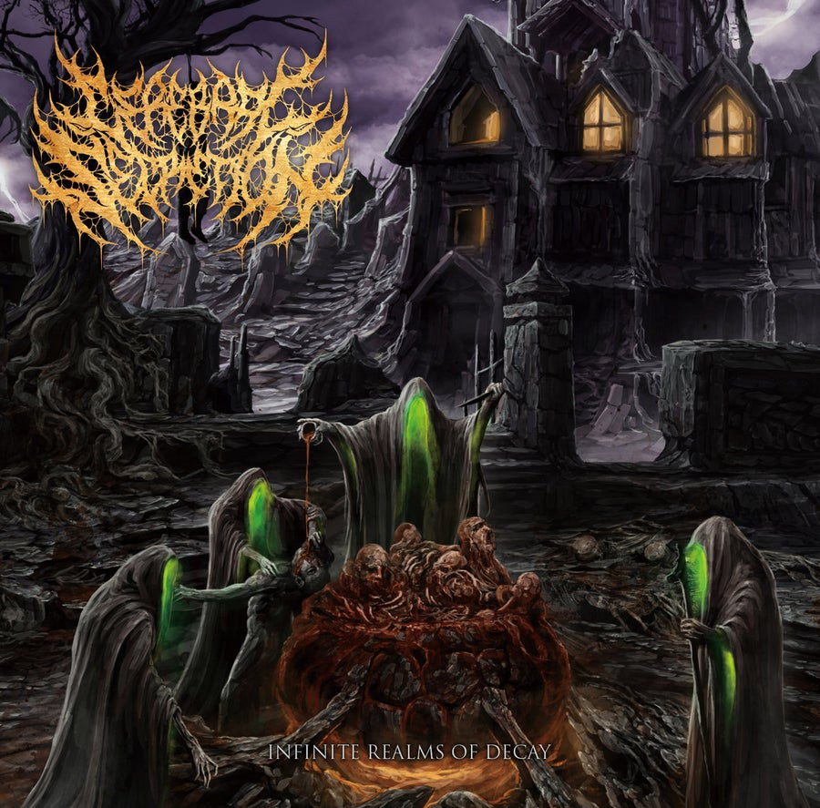 Image of Cerebral Secretion - Infinite Realms Of Decay CD