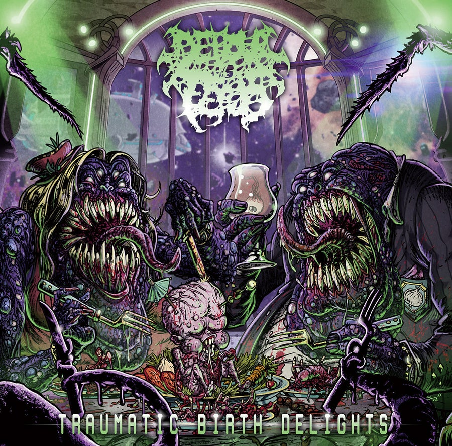 Image of Devour The Fetus - Traumatic Birth Delights CD