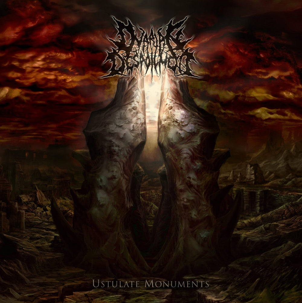 Image of Ovarian Despoilment - Ustulate Monuments CD