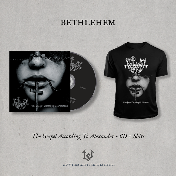 "Image of Bethlehem ""The Gospel According To Alexander"" Limited CD Bundle"