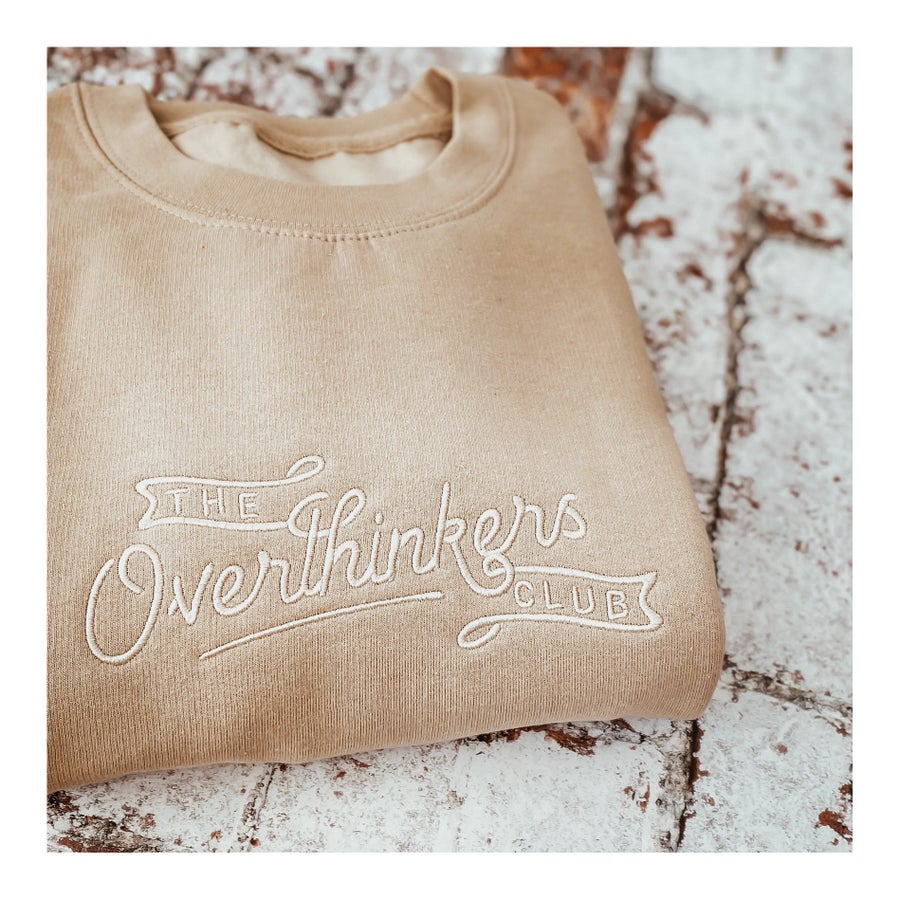 Image of The Overthinkers Club sweater