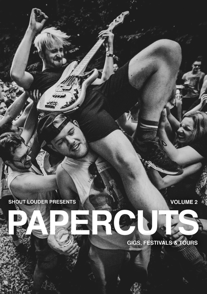 Image of PAPERCUTS #2 - Gigs, Tours & Festivals (Paperback)