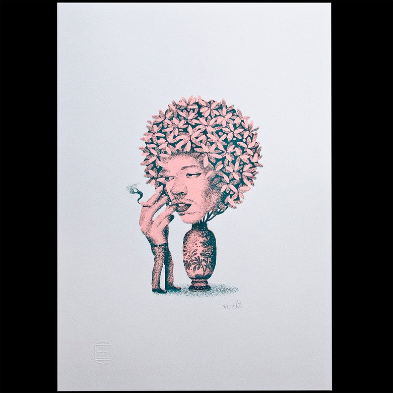 Image of 'Hendrix' Art Print