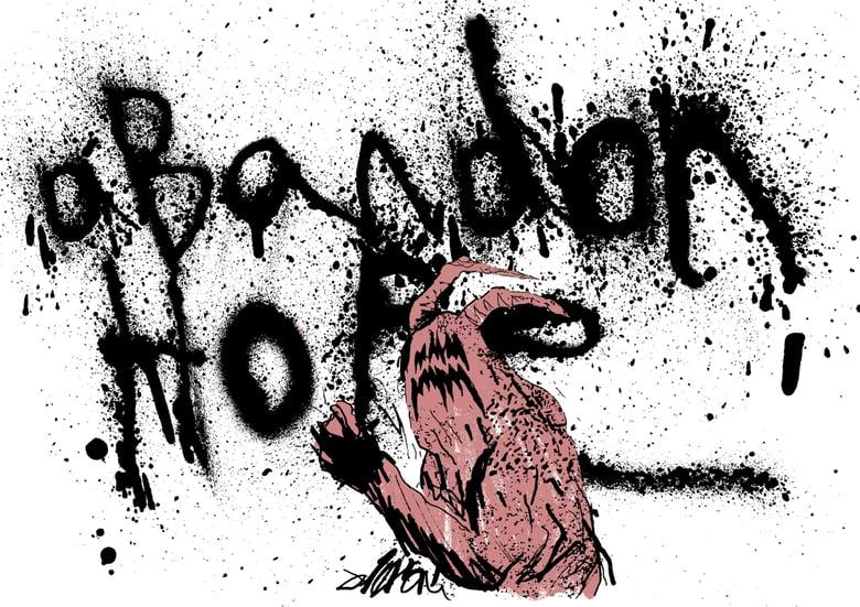Image of Abandon Hope — Giclée art-print