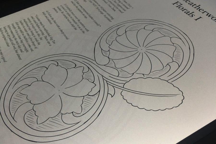 Image of Sheridan Dual Flower Carving Pattern
