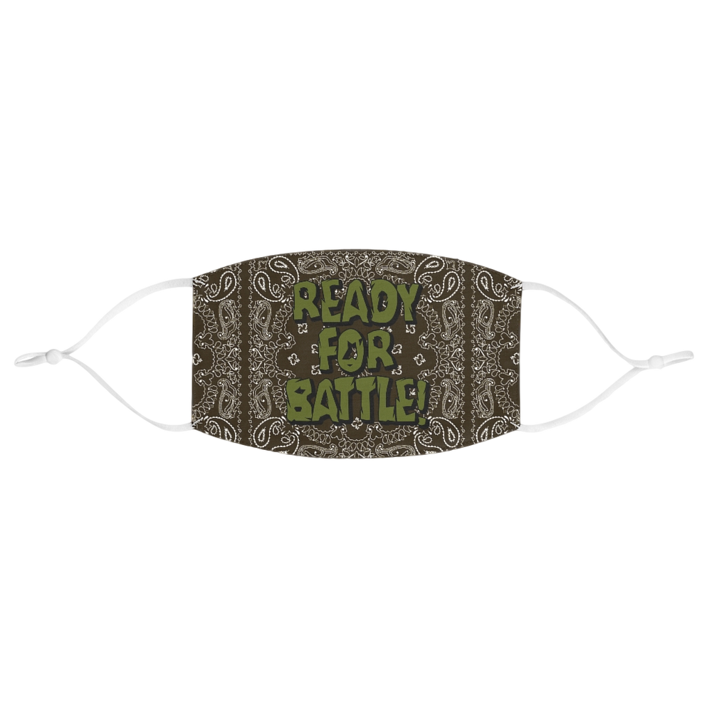 Image of BATTLE READY FABRIC FACE MASK