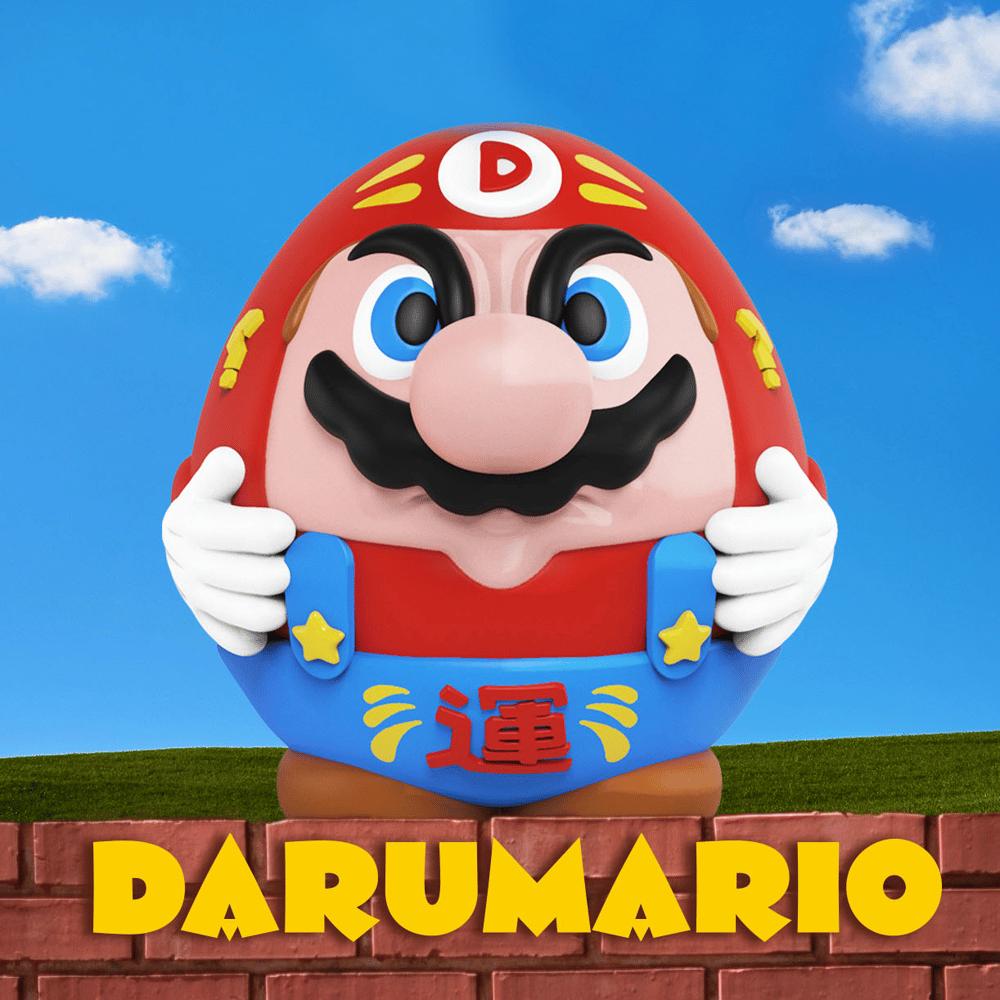 Image of 'DARUMARIO' ART TOY !