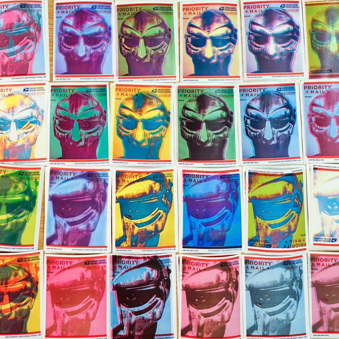 Image of tribute to MF DOOM 228s pack