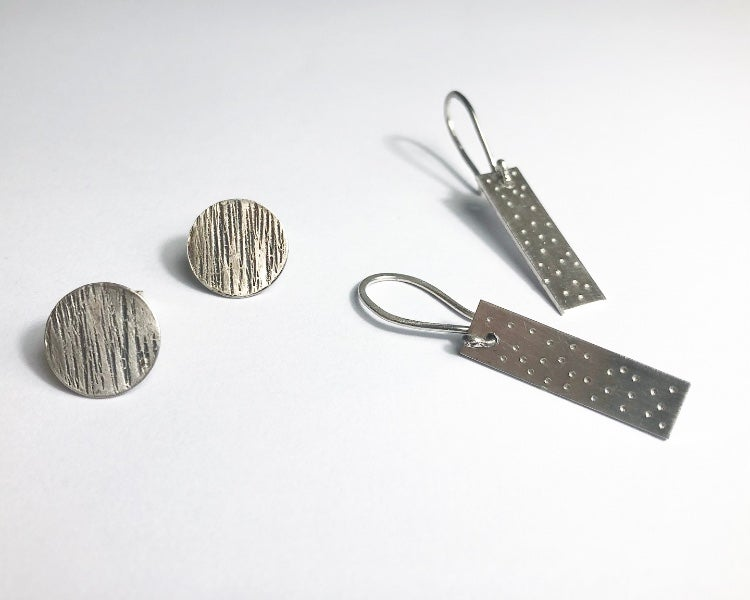 Image of Silver Earrings Workshop- Half Day £55, 10th July 2021