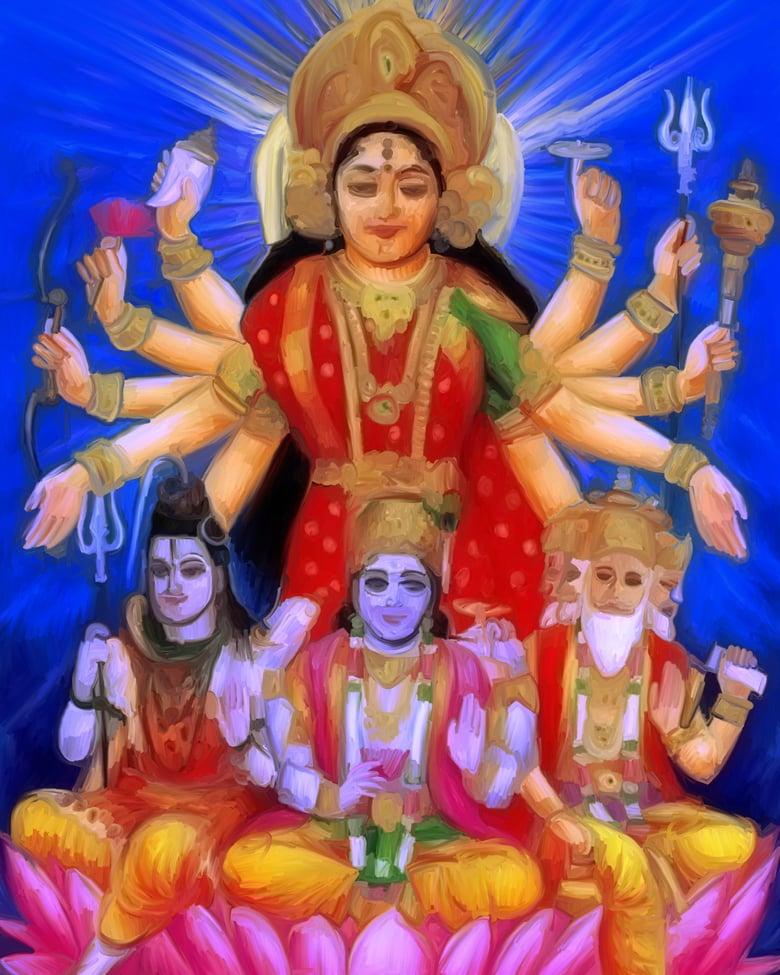 Image of Devi e Durga by Rotondi