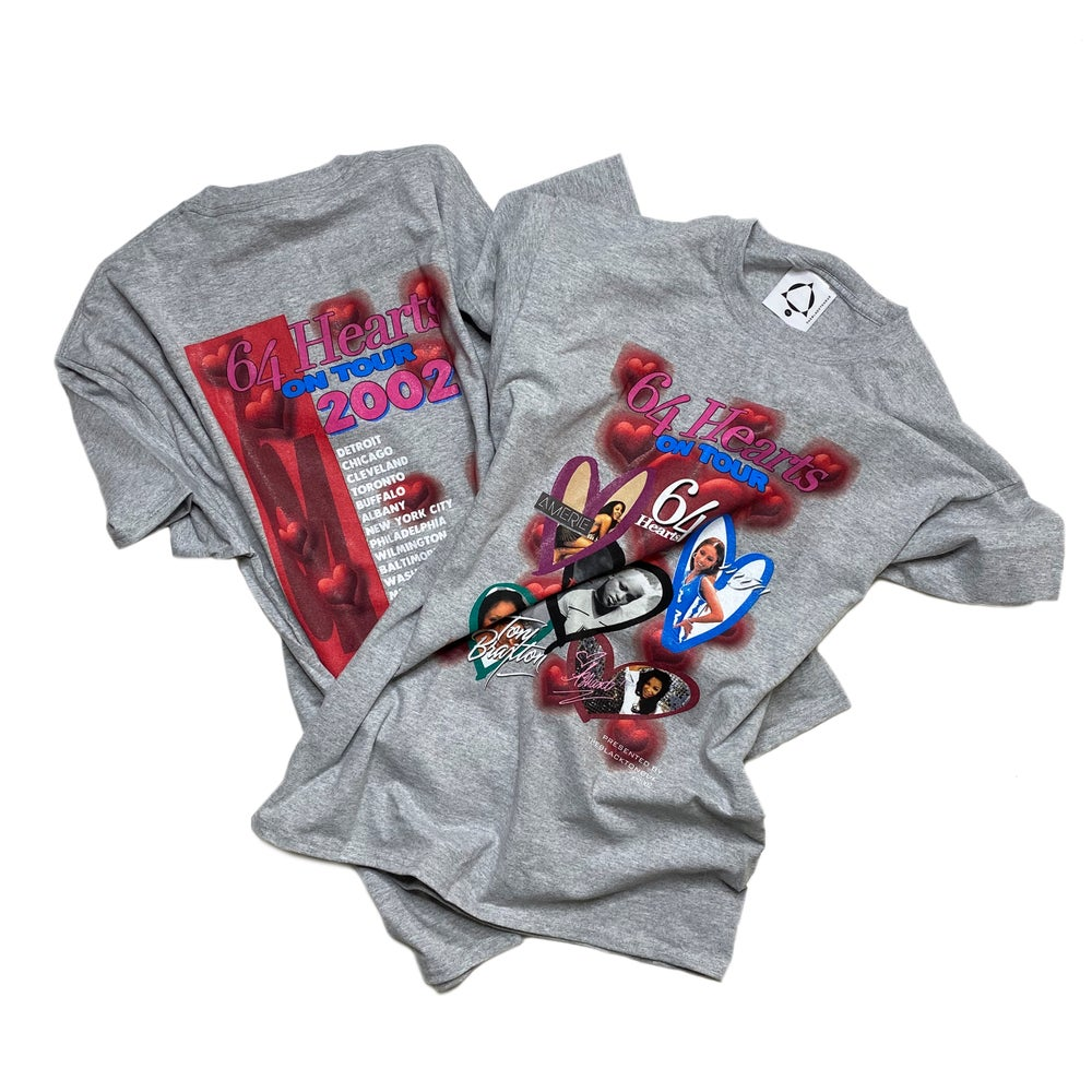 Image of 64 HEARTS TOUR TEE