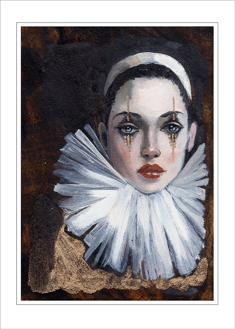 """Image of """"Harlequin"""" Limited edition print"""