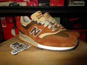 "Image of New Balance 997 x J. Crew ""Butterscotch"" *PRE-OWNED*"