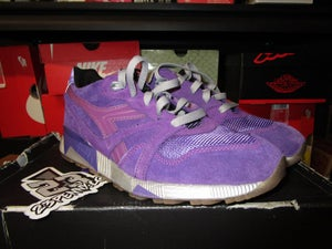 "Image of Diadora N9000 x Packer Shoes ""Purple Tape"" *PRE-OWNED*"
