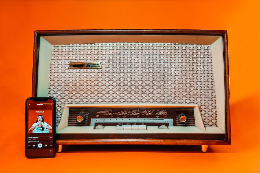 Image of SIEMENS RR7228 W (1958) RADIO VINTAGE BLUETOOTH