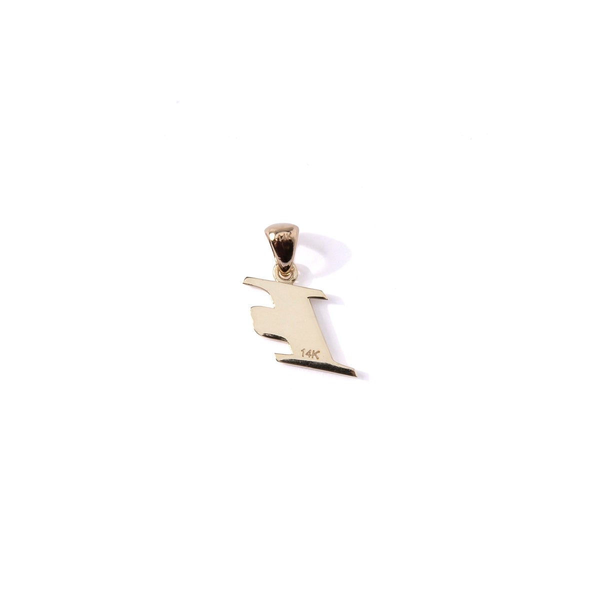 Image of 14k Gold Iverson Pendant