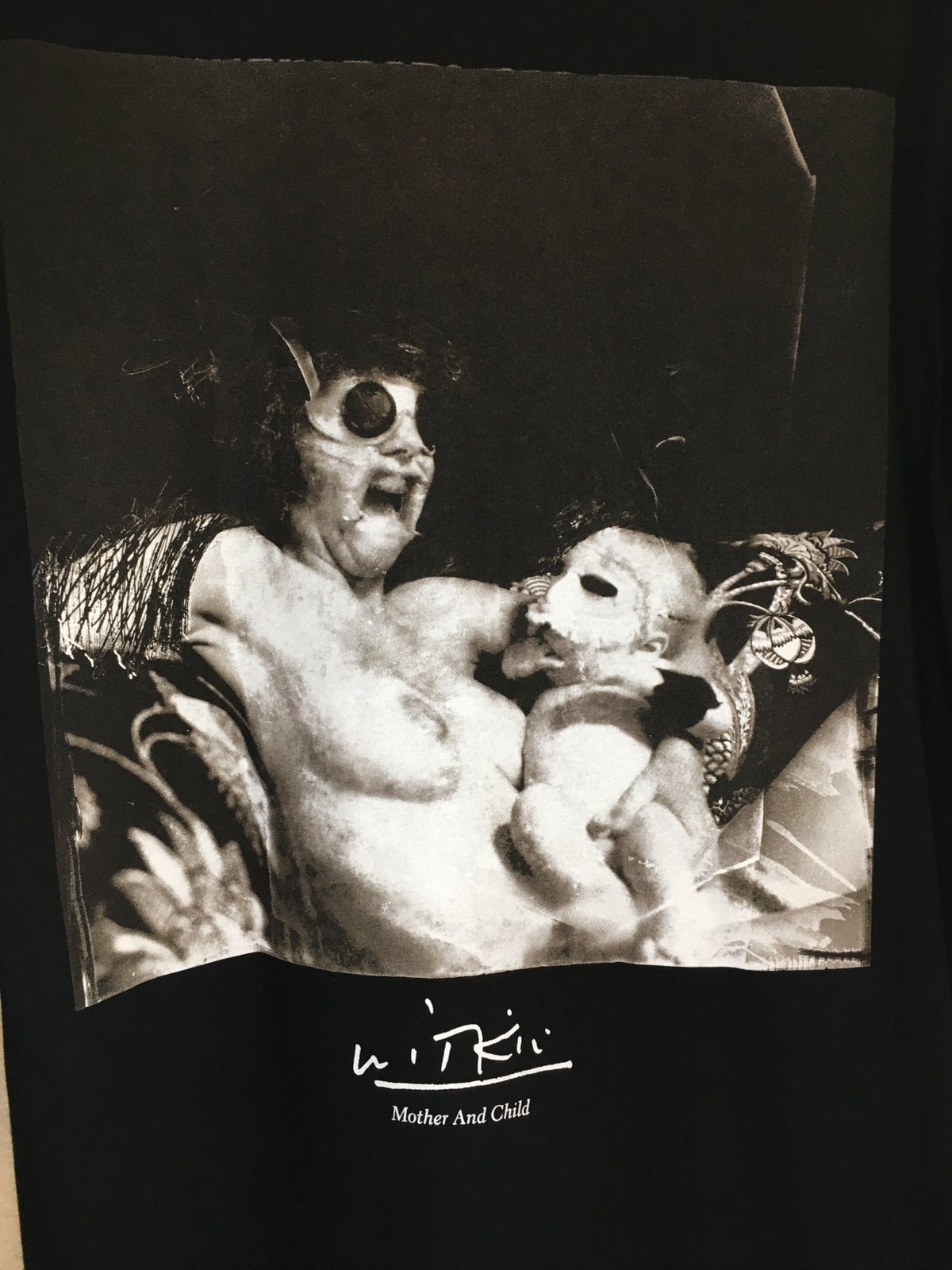 Supreme x Joel-Peters Witkin Mother And Child Tee