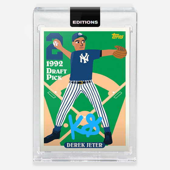 Image of 1993 Jeter 'Cyan'