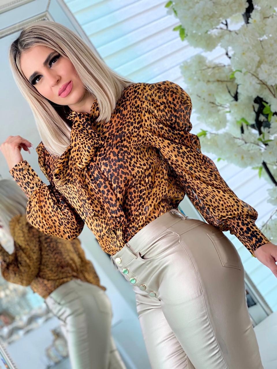 Image of Blouse(Blusa) Animal Print