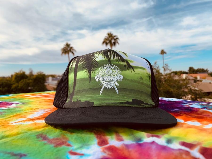 Image of Palm Tree Snapback