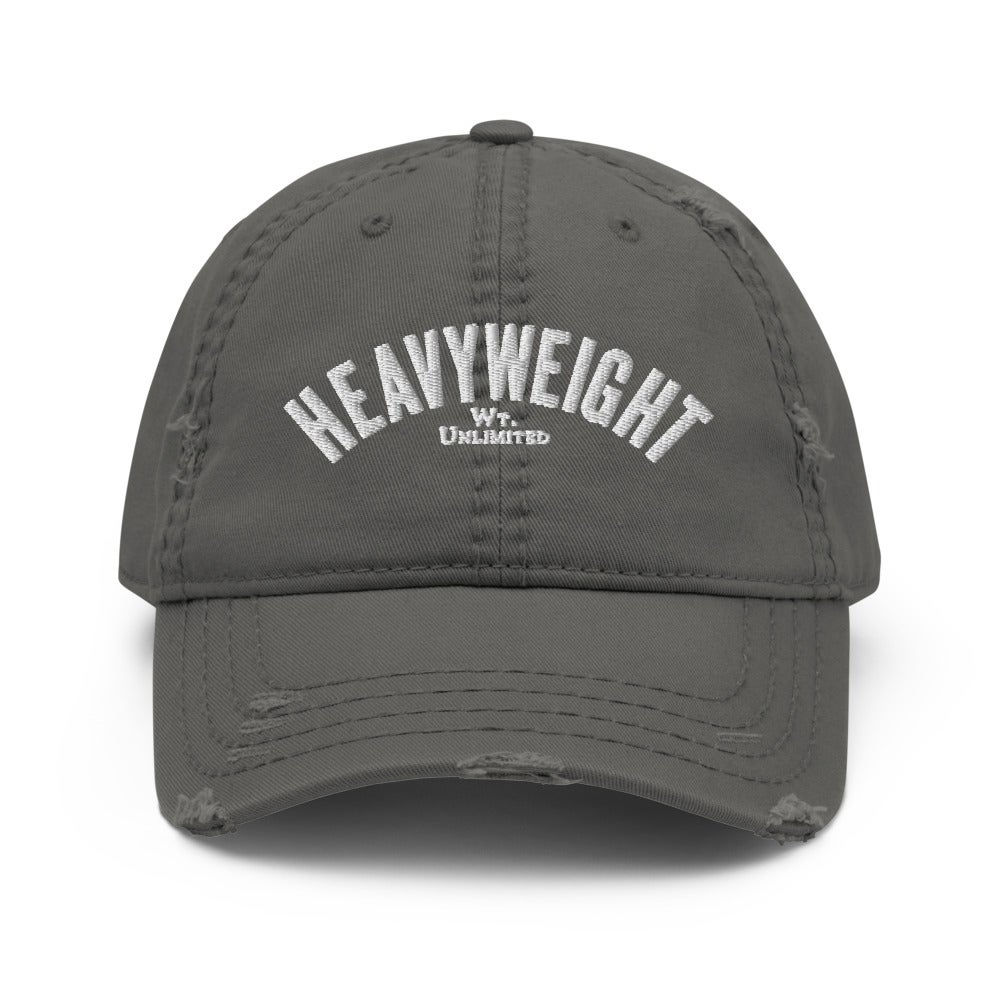 Heavyweight Distressed Dad Hat (3 colors)