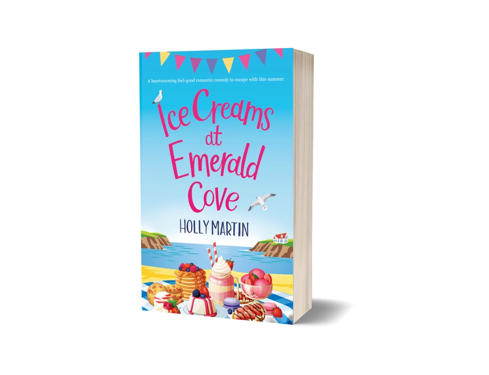Image of Signed paperback of Ice Creams at Emerald Cove