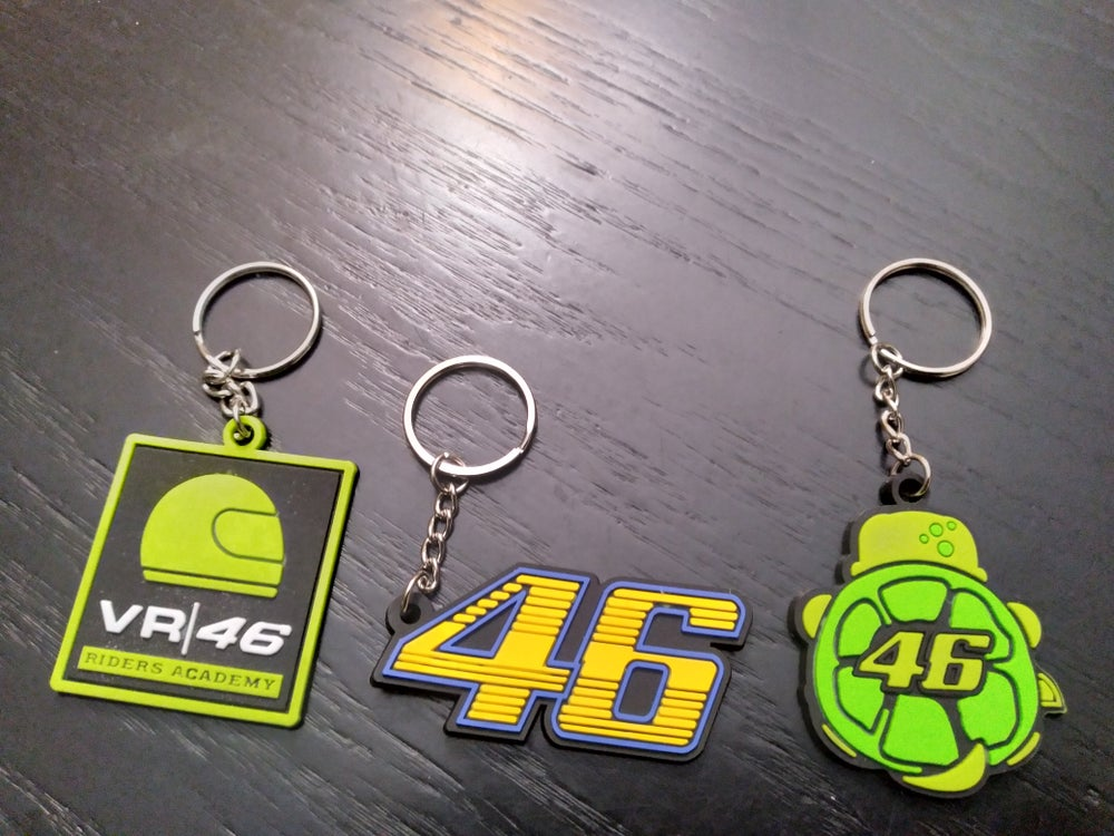 Valentino Rossi #46 The Doctor Keychains