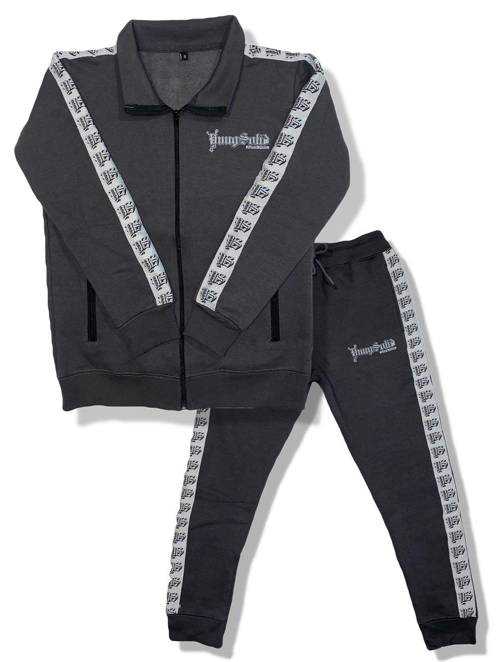 Image of Grey YS Unisex Sweat suit