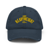 Light Heavyweight Distressed Dad Hat (3 colors)