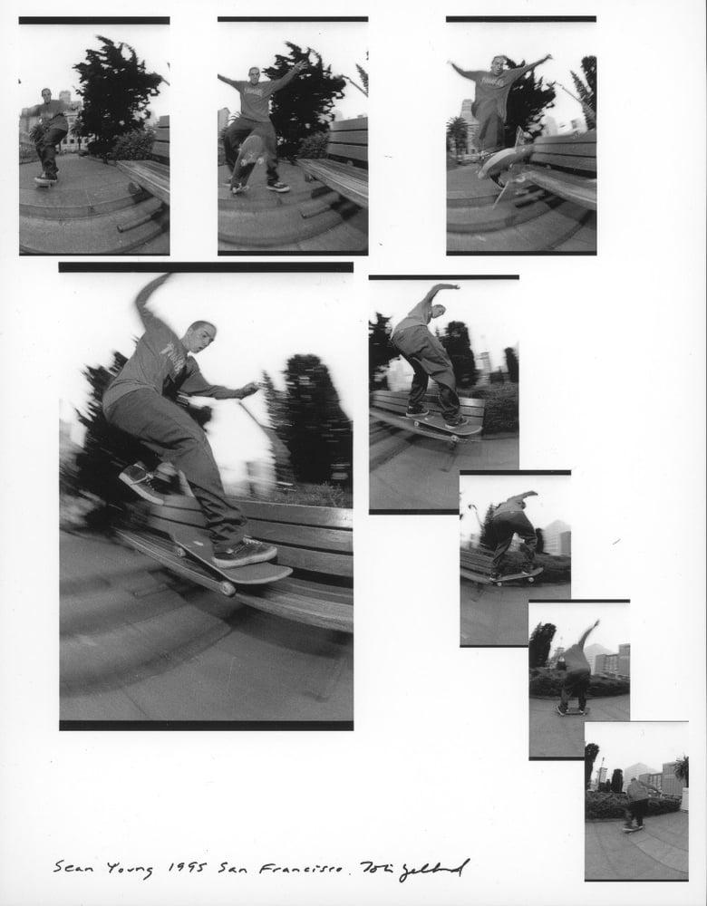 Sean Young Union Square 1995 by Tobin Yelland