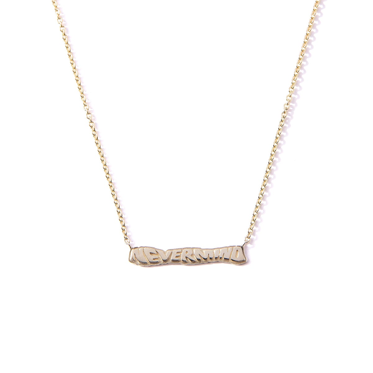 Image of 14k NeverMind Chain & Pendant