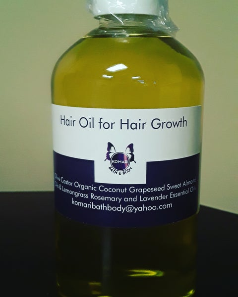 Image of Hair Oil for Hair Growth-16 oz.