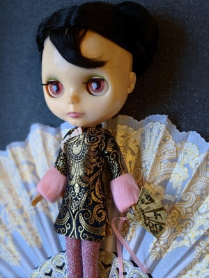 Image of LoungingLinda ~ Black Cheongsam Mini dress set