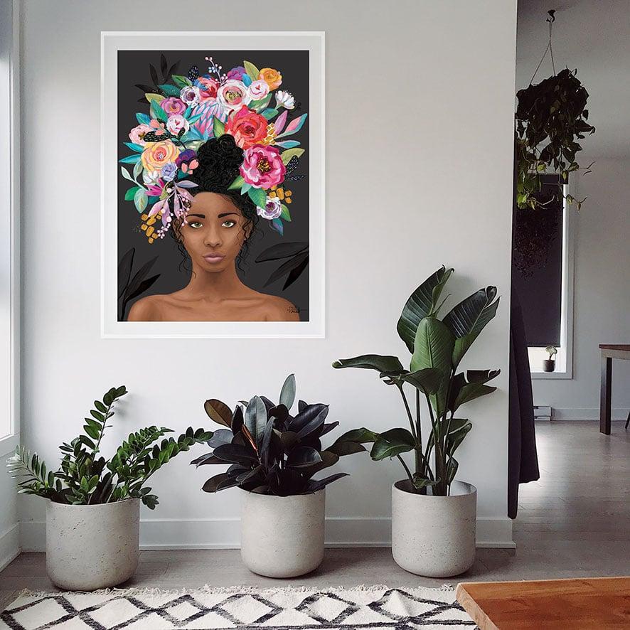Image of Nylah Black - Art Print