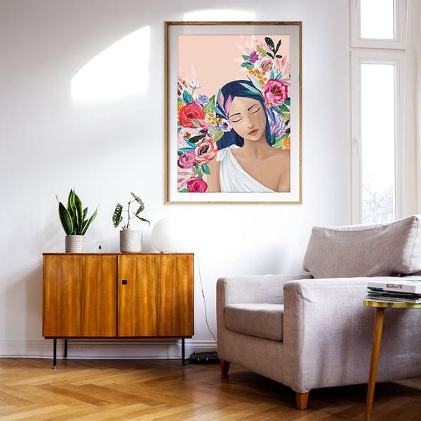 Image of Aurelia Peach - Art Print