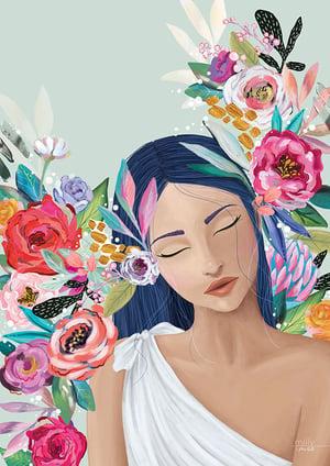Image of Aurelia Sage - Art Print