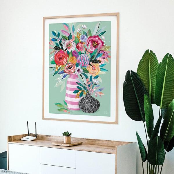 Image of Inflorescense Vase - Art Print