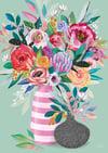 Inflorescense Vase - Art Print