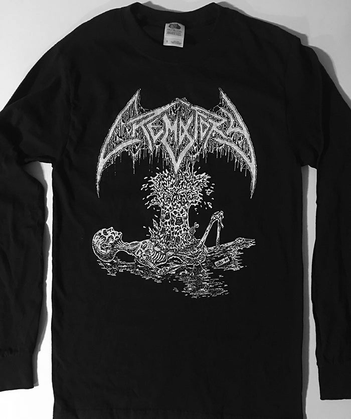 "Image of Crematory "" Exploding Chest "" Long Sleeve T shirt"