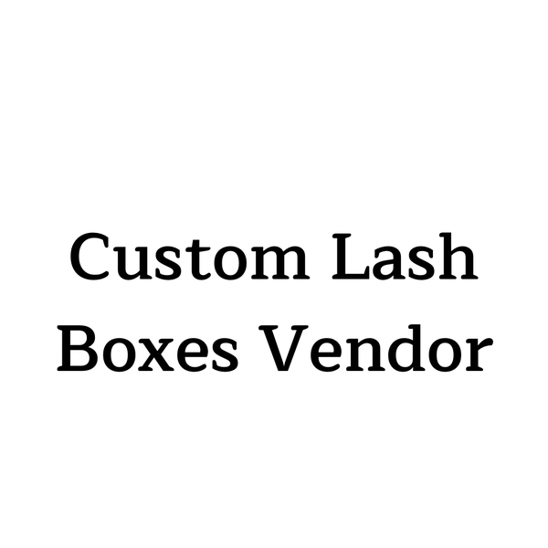 Image of Custom Lash Box Vendor