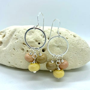 Image of Spa Stones Triple Earrings