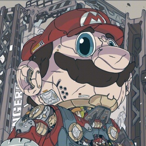 Image of MECHASOUL TITAN MARIO BROS