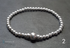 Sterling silver round and flat bead bracelets  Image 3