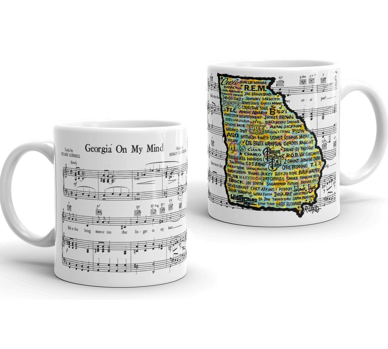 Image of New! Georgia Musicland Mug