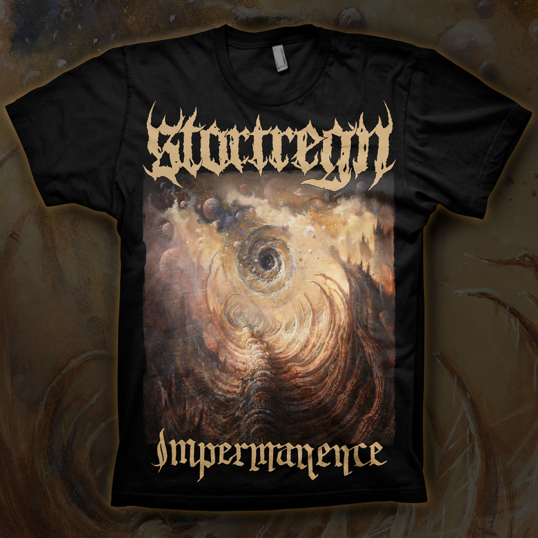 Image of STORTREGN - Impermanence | T-shirt
