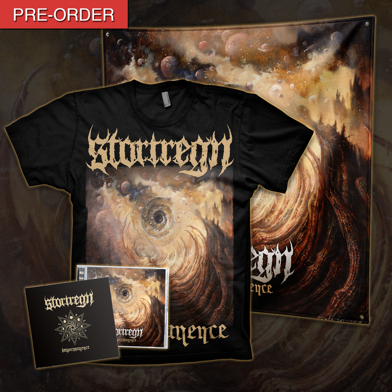 Image of STORTREGN - Impermanence | Flag Bundle