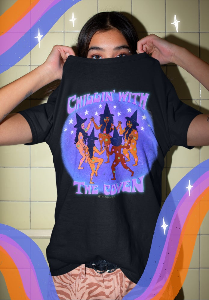 Image of CHILLIN' WITH THE COVEN TEE