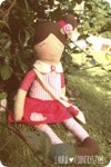 PDF SEWING PATTERN FILE-Irene sweet doll