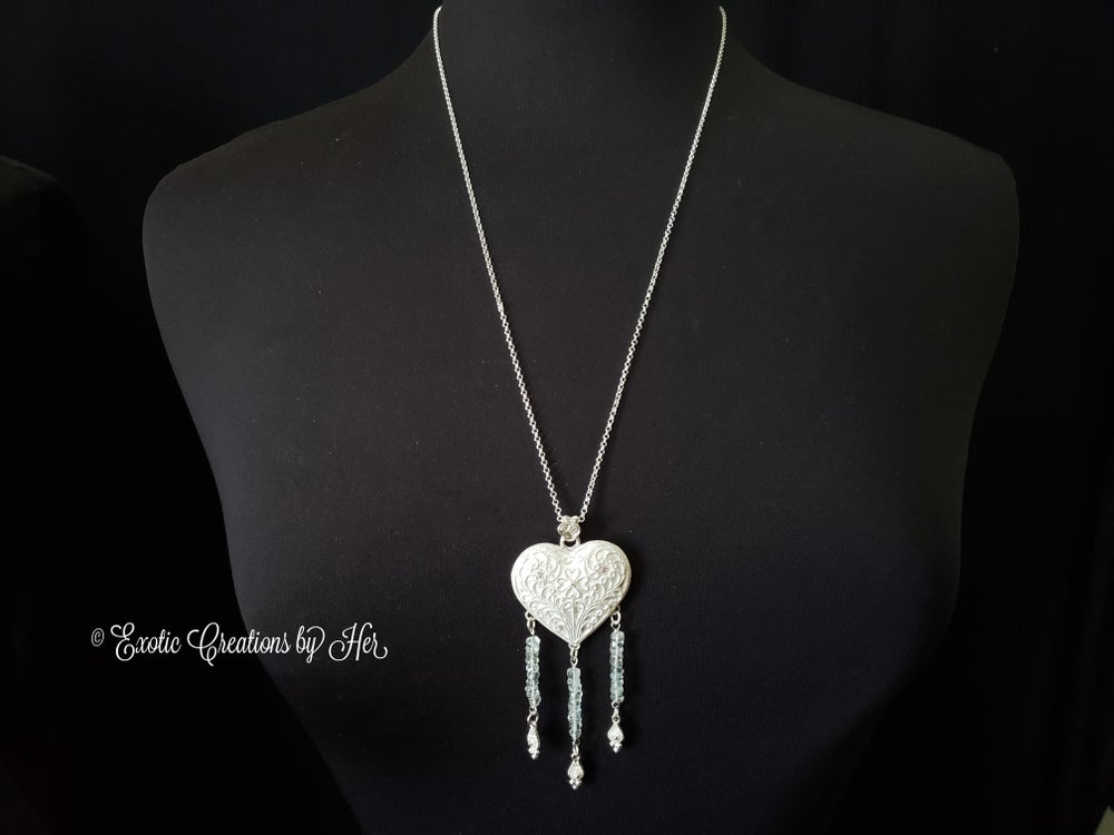 tourmaline Heart Necklace